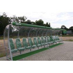 Kabina dla zawodników rezerwowych VIP