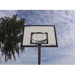 Tablica do koszykówki 90x120 cm, treningowa, epoksydowa, na ramie cynkowanej ogniowo