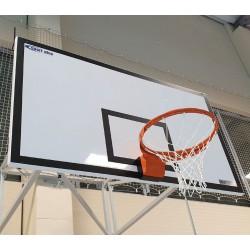 Basketbalová doska 105 x 180 cm, PROFI, epoxidová