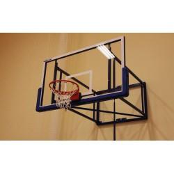 Basketbalová doska 105 x 180 cm, PROFI, 15 mm akrylové sklo