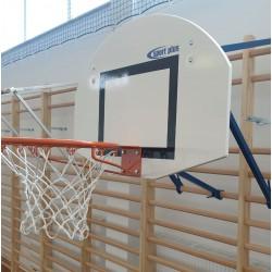 Tablica do koszykówki 90 x 120 cm, treningowa, zakładana na drabinkę (w zestawie z obręczą)