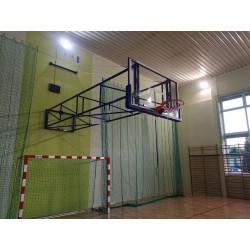Basketbalová konštrukcia úhybná do boku 120x90 cm