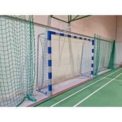 Hádzanárske bránky PROFI (3x2 m), hliníkové s výstužou