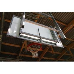 Zariadenie na nastavenie výšky basketbalového koša 105x180 cm
