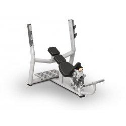 Posilňovacia lavica na cvičenie hrudníka hore hlavou BML 04