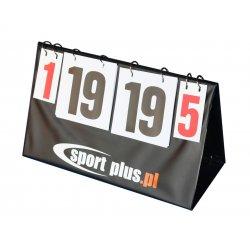 Tablica wyników Sport Plus (0-30)
