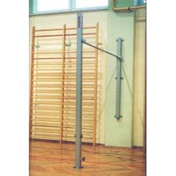 Gymnastická hrazda 2-stĺpová s upevnením do steny a do púzdra
