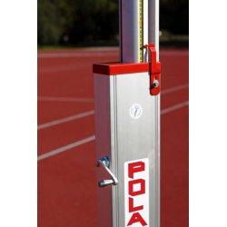 Stojak do skoku wzwyż, aluminiowy, teleskopowy STW-02 (certyfikat IAAF)
