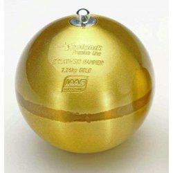 Atletické kladivo ZIOLOWSKI GOLD, 7,26 kg, mosadz (certifikát IAAF)