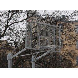 Tablica do koszykówki 105x180 cm, profesjonalna, stalowa, kratowana, cynkowana ogniowo