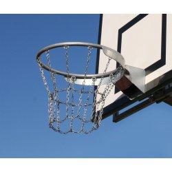 Basketbalová sieťka 12-bodová, kovová