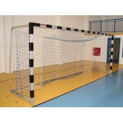 Bramki do piłki nożnej 5 x 2 m - stalowe, przenośne (profil 80x80 mm)