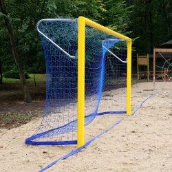 Bramki do piłki nożnej plażowej 5,50 x 2,20 m - aluminiowe