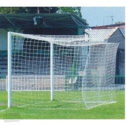 Siatka piłkarska polietylenowa, 7,50 x 2,50 m, gr. sznurka 4 mm, gł. 300/300 cm