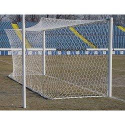 Siatka piłkarska polipropylenowa, 7,50 x 2,50 m, gr. sznurka 3,5 mm, gł. 200/200 cm