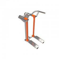 Outdoor fitness zariadenie na posilňovanie stehien a sedacích svalov Sport Plus