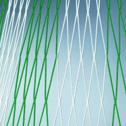 Siatka do bramki piłkarskiej, 5,15 x 2,05 m, polipropylenowa, gr. sznurka 4 mm, sz. 80/150 cm