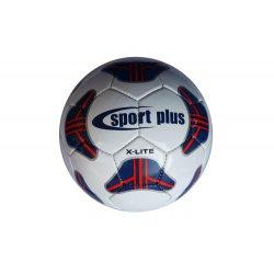 Piłka nożna Sport Plus X-Lite (szyta ręcznie, rozmiar 4)