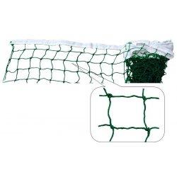 Badmintonová sieť POPULAR (zelená, čierna)