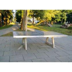 Stół do tenisa stołowego betonowy