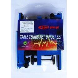 Siatka do tenisa stołowego Sport Plus (mocowana za pomocą śruby)