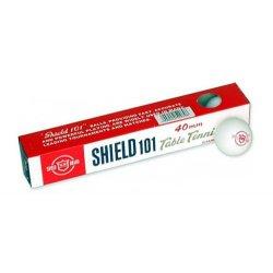 Piłeczka do tenisa stołowego SHIELD , biała
