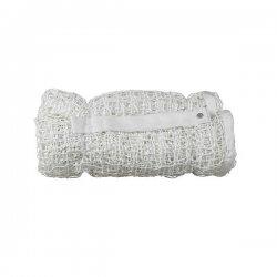 Siatka do tenisa biała (polipropylen, grubość sznurka 3 mm)