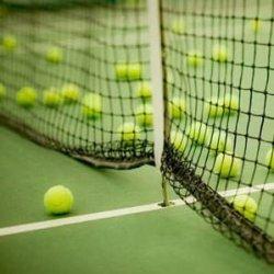 Siatka do tenisa biała (polietylen, grubość sznurka 2 mm)