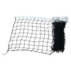Kvalitná IV ML volejbalová sieť, čierna, s anténami