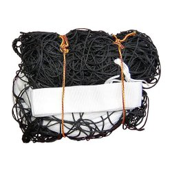 Volejbalová sieť IV + anténky, čierna