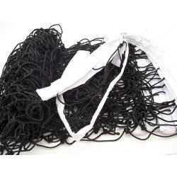 Siatka do siatkówki, treningowa, polietylenowa, gr. 2 mm, sznur nylonowy