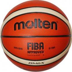 Piłka koszowa Molten GM6X Fiba Approved (rozmiar 6)