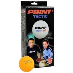 Piłeczka do tenisa stołowego Point Tactic, kolor pomarańczowy