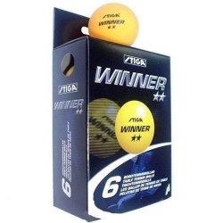 Piłeczka do tenisa stołowego Stiga Winner, kolor pomarańczowy