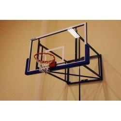 Basketbalová konštrukcia úhybná do boku 180x105 cm