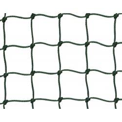 Siatka ochronna, oczka 50 x 50 mm, gr. splotu 2 mm, polietylenowa