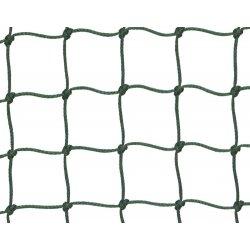 Siatka ochronna, oczka 50 x 50 mm, gr. splotu 3 mm, polietylenowa