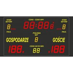 Tablica wyników sportowych ETW 220-160 PRO