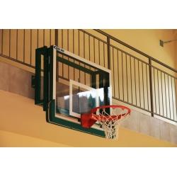 Konstrukcja do koszykówki stała, do tablic 120x90 cm