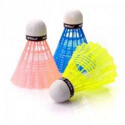 Badmintonové košíky Stiga nylonový kolor mix