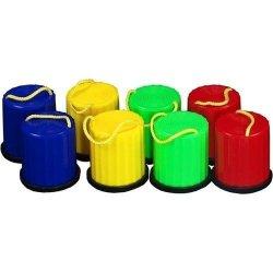 Szczudła kubełkowe dla dzieci