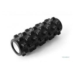 Wałek do masażu 33 cm, kolor czarny