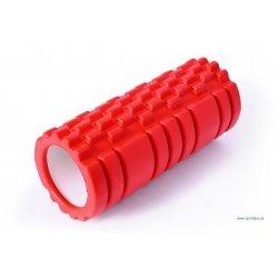 Masážny valec ROLLER 33 cm, červený