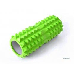 Wałek do masażu 33 cm, kolor zielony