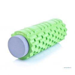 Masážny valec fitness 2w1 (33,5 cm)