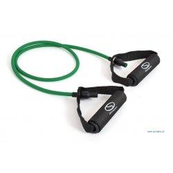 Fitness expander s odporom 2,5 kg, zelený