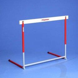 Płotek aluminiowy, składany, 5 pozycji (wysokość 600-914 mm)