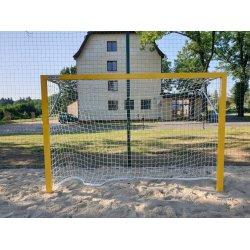Bramki do piłki ręcznej plażowej, aluminiowe, wzmacniane 3x2 m