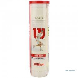 Tenisová loptička Wilson Tour Red Clay