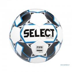 Piłka nożna Select Contra Fifa Quality, rozmiar 5, kolor biało-niebieski